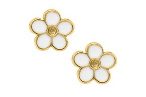 Yellow Gold Flower Chil..