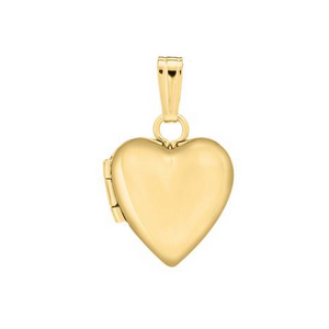 Yellow Gold Heart Shape..