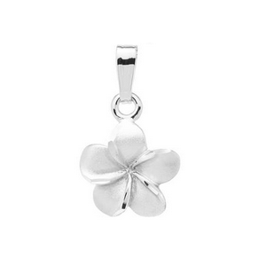 Sterling Silver Flower Children's Pendant