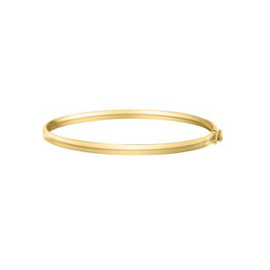 Yellow Gold Bangle Children's Bracelet