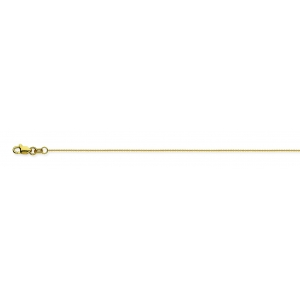18K Yellow Gold Cable C..