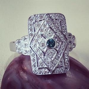 Vintage style Emerald R..