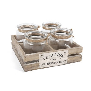 'Le Jardin' Crate with ..