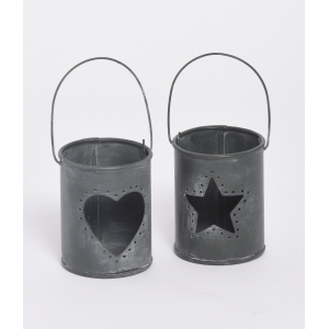 Metal Candle Holder wit..