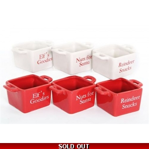 Christmas Novelty Snack Bowls