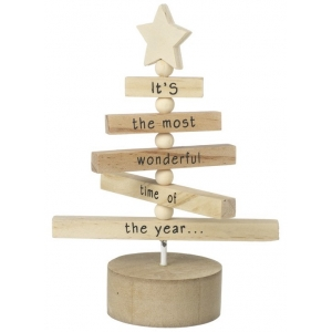 Wooden Spinning Christm..