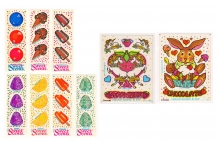 Choice Vintage 80's Illuminations Sweet Scents Scratch n Sniff Stickers STILL SMELL