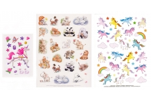 Choice Unicorn Animals Sticker Sheet