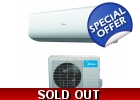 Midea 33000 Btu 15 SEER Super Inverter..