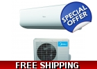 Midea 9000 Btu 23.5 SEER 220v Super In..