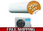 Midea 9000 Btu 24.4 SEER 110v Super In..