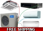 Midea Custom Built Multi Zone Ductless..
