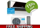 9,000 Btu 19 SEER 220v Inverter Mini ..