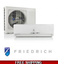 Friedrich 9,000 Btu 21 Seer Mini Split Heat Pump Air Conditioner M09YH