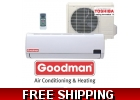 Goodman 12000 Btu 19 Seer Mini Split ..