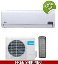 36000 Btu 220v DC Inverter 15 Seer Mini Split Heat Pump AC
