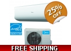 18,000 Btu 21 SEER 220V Super Inverte..