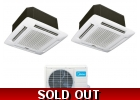 16 Seer 2 Room Dual Zone Ceiling Cass..