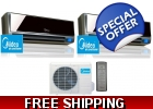 16 Seer 2 Room Dual Zone Mini Split H..