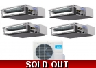 16 Seer 4 Room Quad Zone Ducted Mini ..
