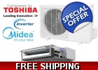 Midea 18000 Btu 16 Seer Ducted Mini S..