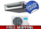 12000 Btu 19 Seer Ducted Mini Split He..