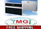 YMGI Flat Panel 9000 Btu Ductless Heat..