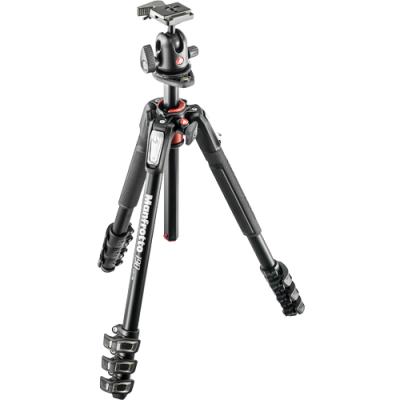 Manfrotto MK190XPRO4-BH Tripod with 496RC2 Ball Head