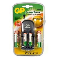 GP Powerbank AA & AAA Charger