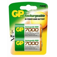 GP D-cell Rechargable 2 x 7000mah..