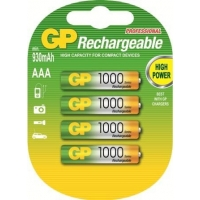 GP AAA 950mah/1000 Series NIMH Re..