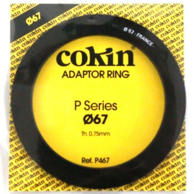 Cokin 67mm Adaptor Ring for P Series
