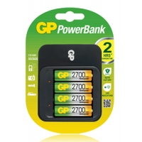 GP Powerbank M550 Charger Kit + 4..