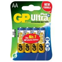 GP AA Ultra Plus Alkaline 4 Pack