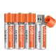 Sorbo USB Rechargeable AA Battery 4 Pack