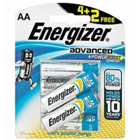 Energizer Advanced AA 4+2 Pack