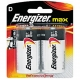 Energizer Max D-size 2 Pack