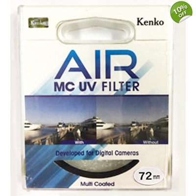 Kenko 72mm UV AIR MC Glass Filter