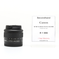 Canon EF-M 15-45mm F3.5-6.3 IS ST..