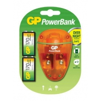 GP Powerbank 9V Charger +2 X9V 17..