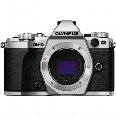Olympus OM-D E-M5 Mark II Mirrorless Micro Four Thirds Digital Camera Body, Silver