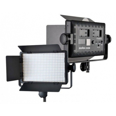 Godox LED500 C 2x Light Kit incl-210B Stds