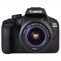 Canon EOS 4000D DSLR with EF-S 18..