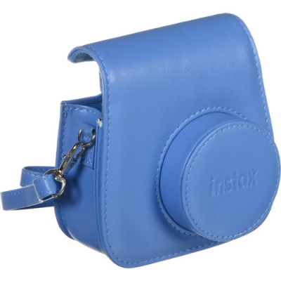 FUJIFILM Groovy Camera Case for INSTAX Mini 9 Cobalt Blue