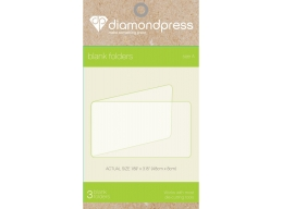 Diamond Press, Blank Folder refill size A