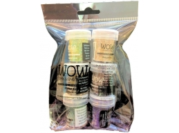 Wow! Limited Edition Embossing Powder Set 6 x 15ml Pots - Planet Earth