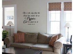 This is the Day that the Lord has made Wall Sticker