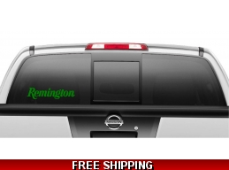 Remington Firearms Decal Sticker set of 2
