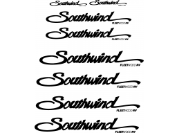 Southwind Camper Decals 8 Piece
