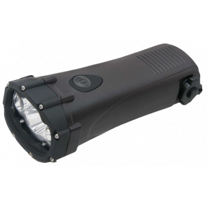 Powerplus Shark Waterproof Windup Torch